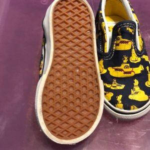 Vans Shoes - Youth Beatles Yellow Submarine Vans